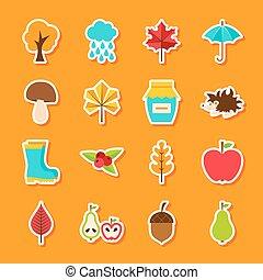 Autumn Flat Stickers
