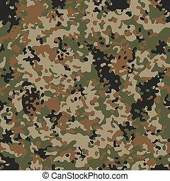 Autumn Flectarn Camouflage seamless patterns