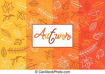 Autumn harvest and Thanksgiving Day poster design