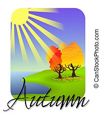 Autumn icon