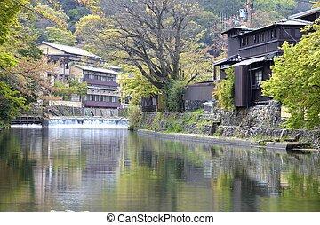 Autumn in Arashiyama, Kyoto, Japan