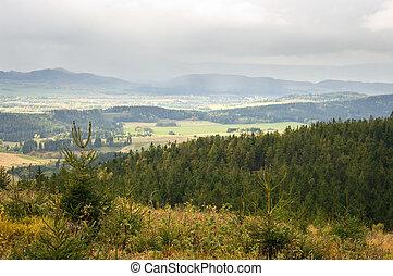 Autumn in carpathian hills