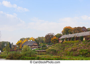 autumn in country