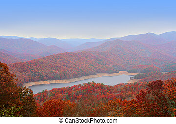 Autumn in Great Smoky Mountains, U