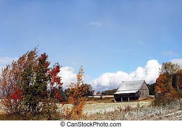 Autumn in Michigan Farmland - This Michigan farm in Autumn...