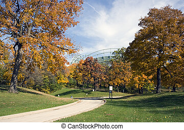 Autumn in Milwaukee, Wisconsin.