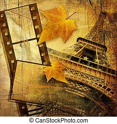 Autumn In Paris - Vintage style