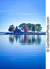 Autumn in Ramsey Lake