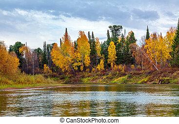 Autumn in Siberia