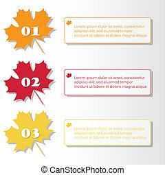 autumn infographic