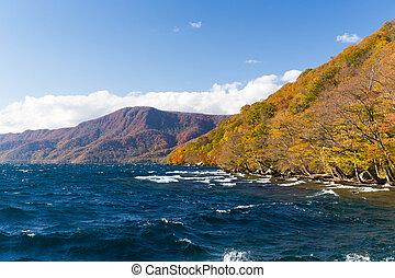 Autumn Lake towada