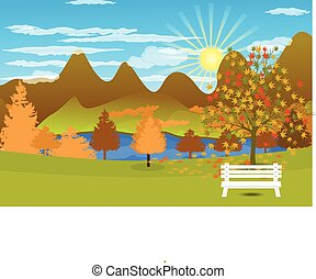 Autumn Landscape background