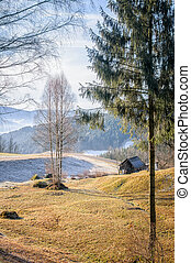 Autumn Landscape in Upper Austria