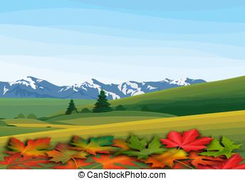 autumn landskape