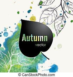 Autumn Leaf Background