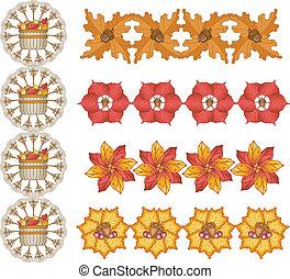 Autumn Leaf Designs