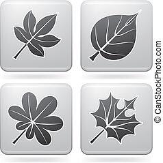 Autumn Leafs (part of the Platinum Squared 2D Icons Set)