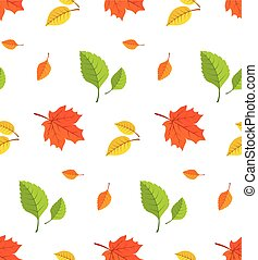 Autumn leaves background.