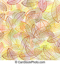 Autumn leaves background