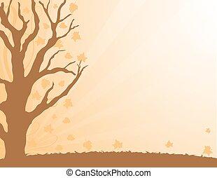 Autumn Leaves border