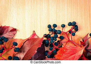 autumn leaves decoration