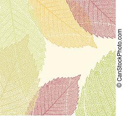 Autumn Leaves Pattern. EPS 8
