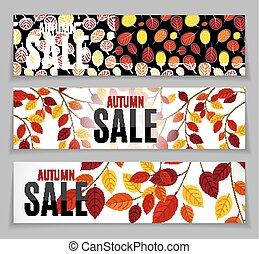 Autumn Leaves Sale Background
