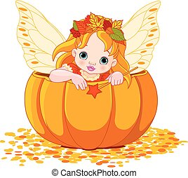 Autumn Little Fairy