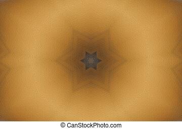 Autumn Mandala Star
