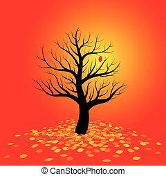 Autumn Mood Red Foliage