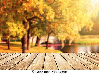 Autumn natural background