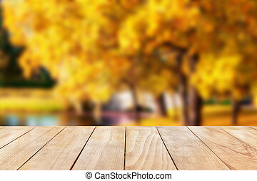 Autumn natural background