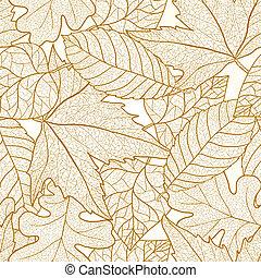 autumn odchodzi, pattern., seamless