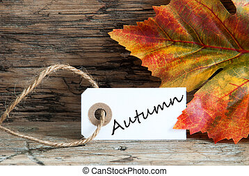 Autumn on a Label