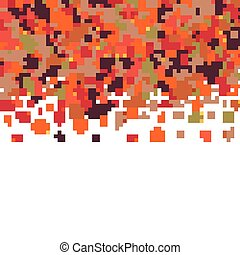 Autumn pattern with bright tree leaves