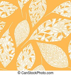 autumn pattern with leaves.eps