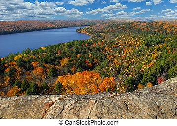 Autumn - Beautiful autumn in Ontario park