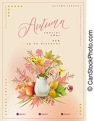 Autumn Poster Template