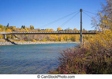 Autumn Prince's Island Bridge