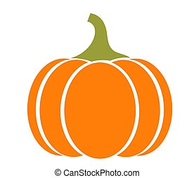 Autumn pumpkin icon