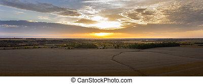 Autumn Rural Sunrise