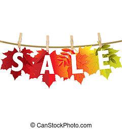 Autumn Sale Leaf