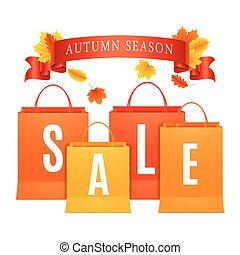 Autumn Sale Shopping Bags