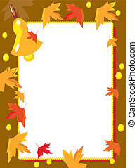 autumn school frame