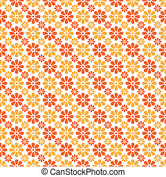 Autumn  seamless pattern. Endless texture