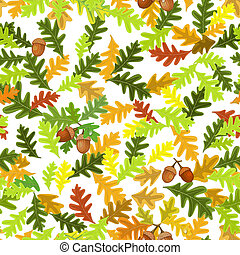 Autumn seamless texture