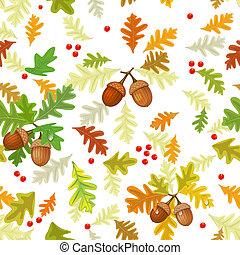 Autumn seamless texture
