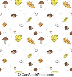 Autumn Seamless vector Background