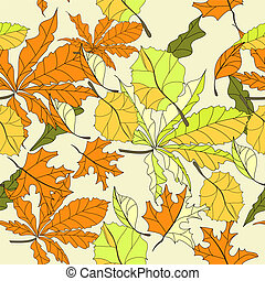 autumn seamless wallpaper