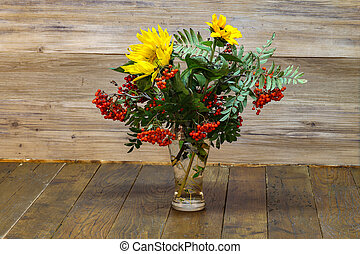 Autumn still life / Autumn bouquet